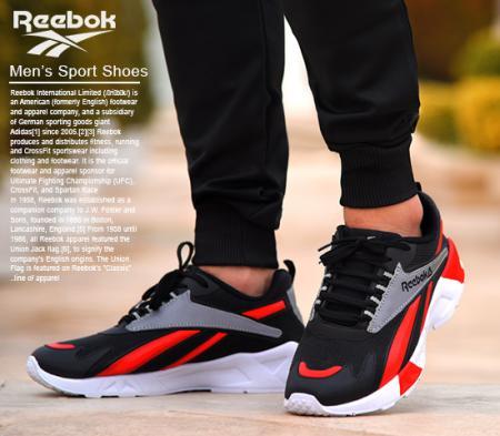 کفش مردانه reebok مدل hanz (قرمز)