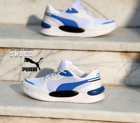 کفش مردانه Puma مدل Arvij (سفید آبی)